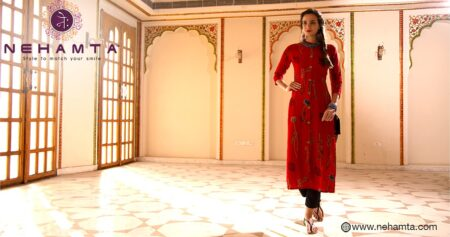 Buy Full Sleeve Long Kurti Online in India
