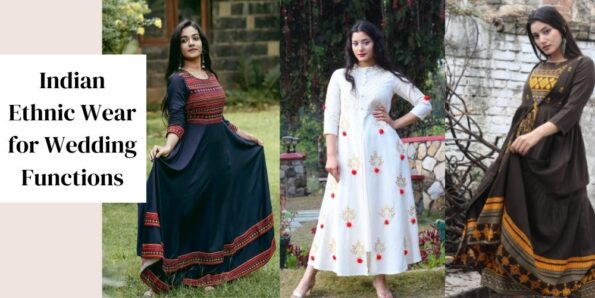 Image of Indian Ethnic Wear ideas for Wedding occasions