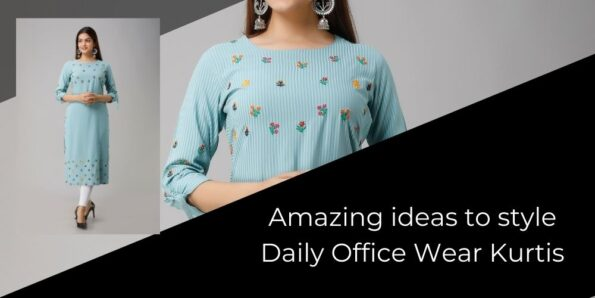 Images of Amazing ideas to style Daily Office Wear Kurtis