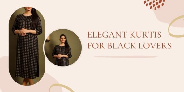 Black Kurti collection for women